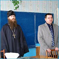 Посещение Поросинской школы