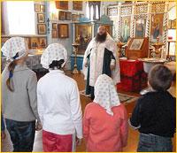 Воспитанники детского дома «Сосновый бор» г. Асино приняли Святое Крещение