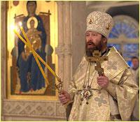 В первый день 2013 года архиепископ Ростислав возглавил Божественную литургию в Богоявленском кафедральном соборе