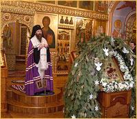 Проповедь архиепископа Ростислава за Рождественским Всенощным бдением (видео)