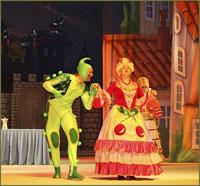 Юные томичи приняли участие в епархиальной Рождественской Ёлке в областном Театре драмы