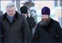 Состоялась встреча архиепископа Ростислава и губернатора Томской области С.А. Жвачкина