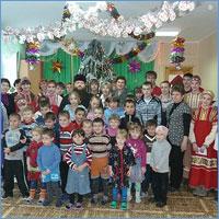 В дни Святок радость праздника подарена детям г. Асино