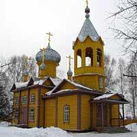 Освящение восстановленного храма в селе Первомайское
