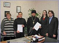 Продолжается заключение договоров о сотрудничестве между приходами и школами Томска