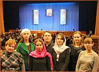 Делегация Томской епархии приняла участие в XXI Международных Рождественских образовательных чтених