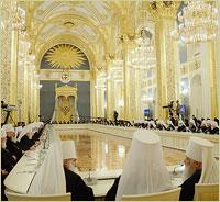 Архиепископ Томский и Асиновский Ростислав принял участие во встрече с президентом Российской Федерации