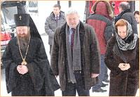 Губернатор Ханты-Мансийского автономного округа — Югра Комарова Н.В. посетила Богородице-Алексиевский монастырь