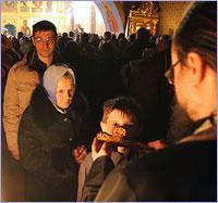 Общегородской чин прощения будет совершаться в Богоявленском соборе г.Томска