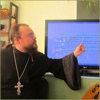В Калтайской школе прошёл открытый урок «День православной книги»