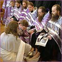 В Томских храмах прошли службы Великого четверга