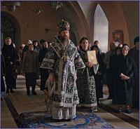 Архиепископ Ростислав совершил первую Литургию Преждеосвященных Даров Великого поста