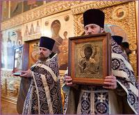 В первое воскресение Великого поста в храмах епархии прошли торжественные молебны Недели Православия