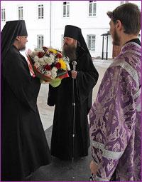 Епископ Колпашевский и Стрежевской Силуан совершил Божественную литургию в Богородице-Алексиевском монастыре г.Томска