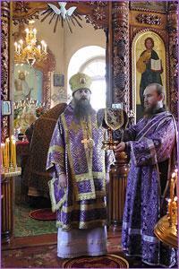 Духовенство и верующие Колпашевской епархии встретили своего архипастыря