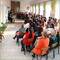 В школе № 5 г.Томска прошло родительское собрание собрание, посвященное выбору модуля курса «Основы религиозных культур и светской этики»