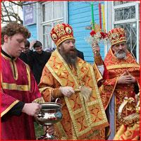 Митрополит Ростислав совершил Божественную литургию в с.Мельниково