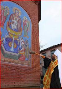 Митрополит Ростислав совершил освящение часовни в честь преподобных Петра и Февронии Муромских