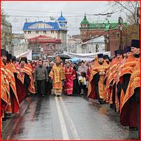 Крестный ход стал кульминацией Дней славянской письменности и культуры в Томске