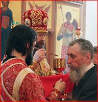 Митрополит Ростислав совершил Божественную литургию в с.Кожевниково