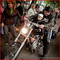 Сибирские байкеры — за ответственное отцовство