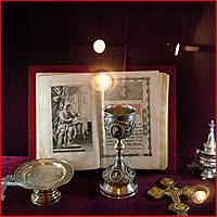 Открытие выставки церковного исскуства в г.Томске