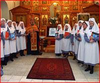 В Знаменском храме образовано сестричество в честь Святых Жен-мироносиц