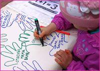 Православная молодежь Томска в День защиты детей организовала акцию «Спасибо маме, что я есть!»