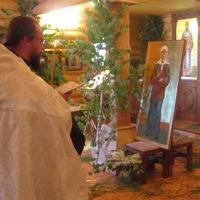 В иконостасе Ильинского храма с.Кандинка появились иконы святителя Макария и блаженной Матроны