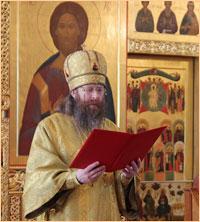 Архиерейское служение в неделю Всех святых