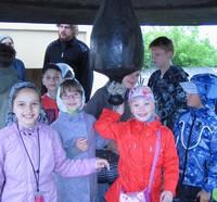 В течение пяти дней в детской воскресной школе Богоявленского собора работала Летняя площадка