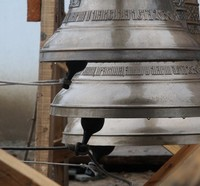 Митрополит Ростислав совершил освящение колоколов в строящемся храме в Богашево