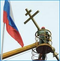 На купол часовни в Северской военной части водружен крест