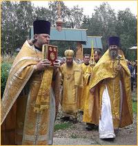 В Неделю 6-я по Пятидесятнице митрополит Ростислав совершил Божественную литургию в Корнилово