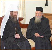 Митрополит Томский и Асиновский Ростислав выразил слова благодарности святогорцам за радушие к прибывающим на Афон паломникам