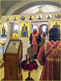 В Богоявленский собор доставлена икона с Афона