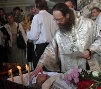 Томичи простились со старостой Петропавловского собора Панасюченко Александром Михайловичем