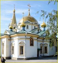 Митрополит Ростислав сослужил Святейшему Патриарху Кириллу во время его визита в Новосибирскую митрополию