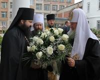 Святейший Патриарх Кирилл посетил Богородице-Алексиевский монастырь г. Томска