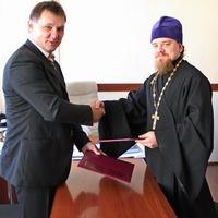 Подписано соглашение между Средней школой №11 и Богоявленским собором