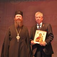 Митрополит Ростислав поздравил коллектив Мостоотряда с юбилеем