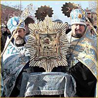 Пребывание Почаевской иконы в Томске