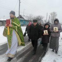 Верующие с.Баткат совершили Крестный ход к месту разрушенного храма
