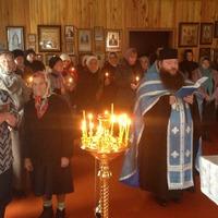 Богослужение в Мало-Жирово собрало богомольцев из соседних населенных пунктов