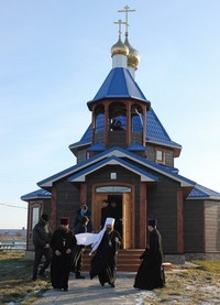 Митрополит Ростислав совершил Божественную литургию в д.Терсалгай Кожевниковского района