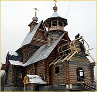 Горно-Алтайск. Храм в честь прп. Макария (Глухарева), основателя Миссии.