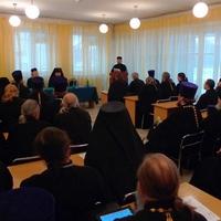 В работе XVI пастырской конференции в Абакане принял участие преподаватель Томской духовной семинарии