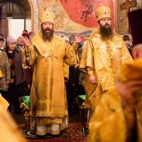 В преддверии 20-летия архиерейской хиротонии митрополит Ростислав возглавил соборную Божественную литургию