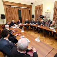 Митрополит Ростислав принял участие в заседание Совета ректоров вузов Томска