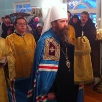 Митрополит Ростислав посетил с.Рыбалово Томского района с архипастырским визитом